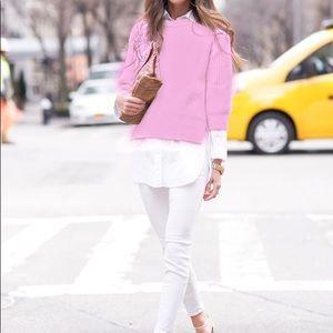 H&M Layered Sweater Blouse
